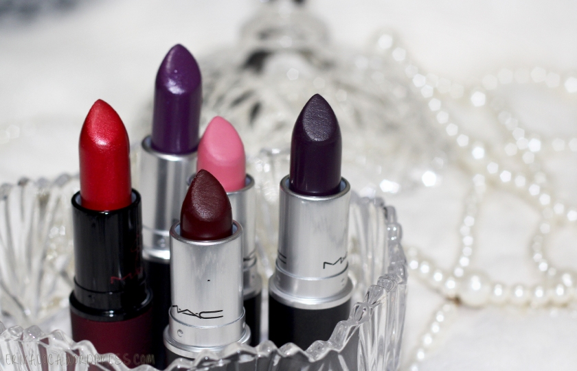 MAC lipsticks 2